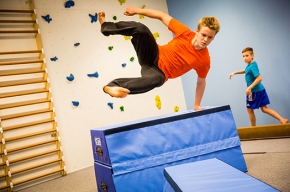 Parkour is cool!