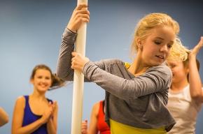 Loving acrobatics :)!